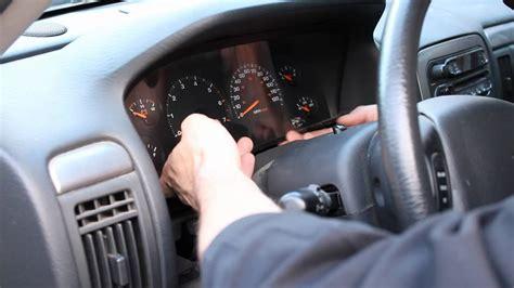 change instrument cluster lights jeep  wj