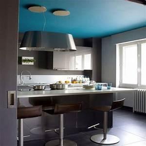 decoration de la maison peindre plafond et mur de la meme With peinture murale gris perle