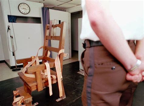 electric chair executions in florida virginian execution methods could include compulsory use
