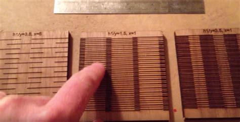 living hinge template  laser cut project