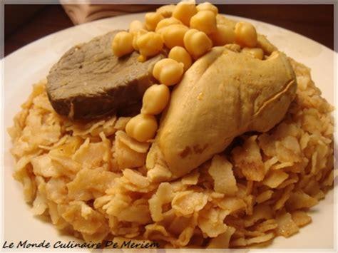 cuisine de constantine chakhchoukha