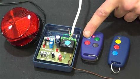 programming  sentry sherlo   remote controls