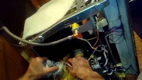 ge dishwasher wont drain fixed youtube