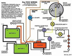 Ford Diesel Tractor Alternator Regulator Wiring Diagram