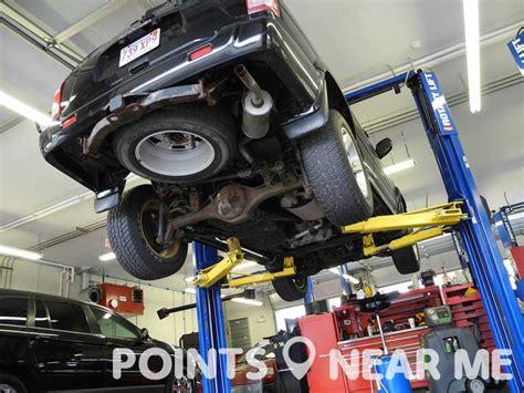 auto repair shops   points