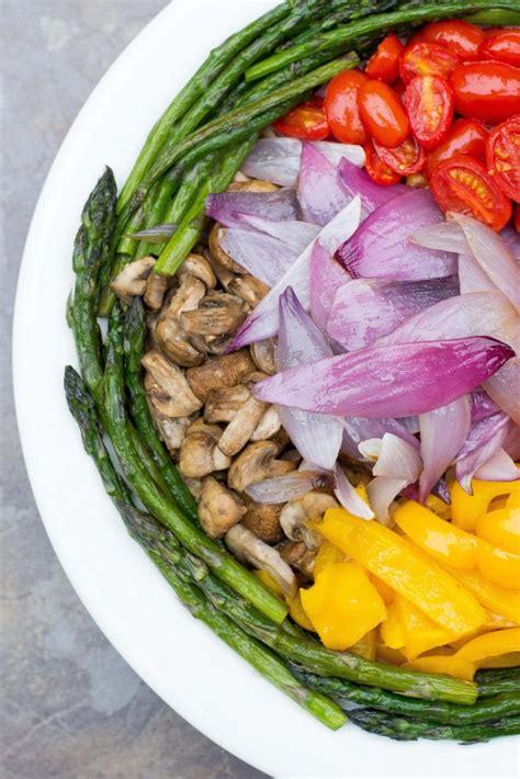 oven roasted vegetable platter queen   kitchen
