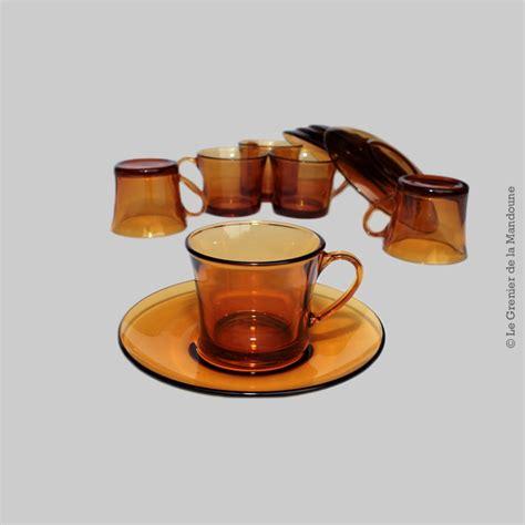 cuisiner le coing ensemble de 5 tasses duralex avec soucoupes tasses à thé