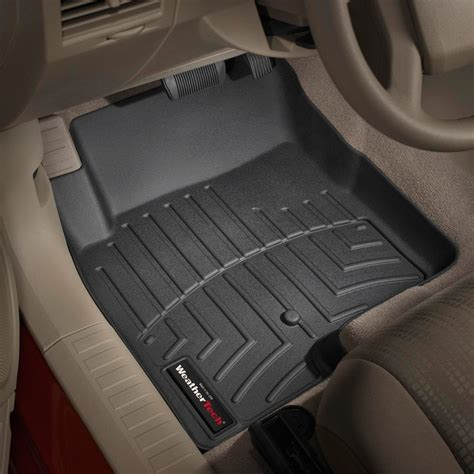 weathertech floor mats weathertech 174 440861 digitalfit molded floor liners 1st row black
