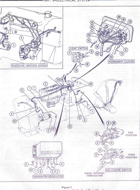 Question For Tractor Mechanics Looking Wiring