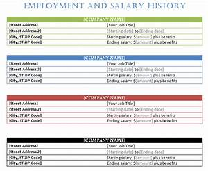 word templates recipe employment history template word templates