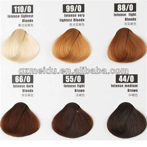 Hair Dye Colour Names by Mido 100ml Aestheticism Brand Name Hair Dye For Synthetic