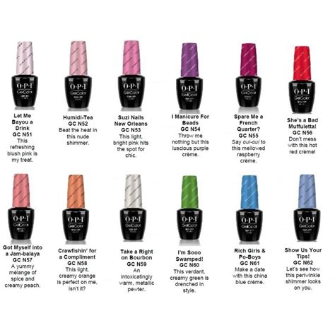 Uv Gel Nail Kits With Lamps by Opi Gelcolor New Orleans Collection Spare Me A French