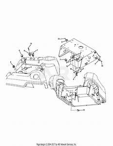 Troy Bilt 17be2acg011 Colt Xp  2009  Parts Diagram For Electrical