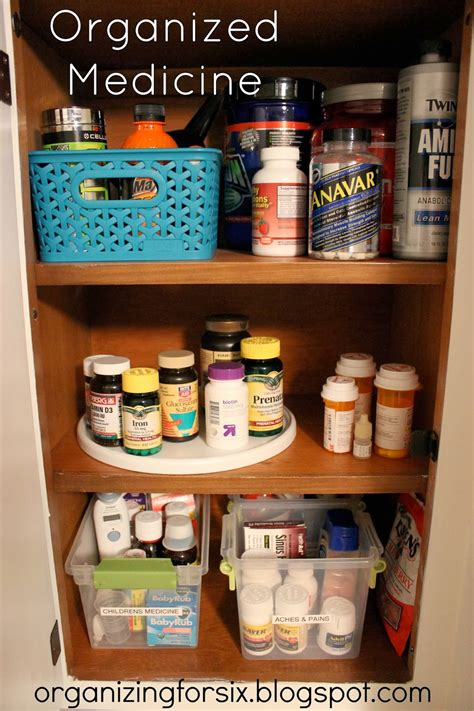kitchen medicine cabinet organizing for six fix friday medicine kitchen 2295