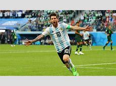 Nigeria Argentina Resultado, resumen y goles 12