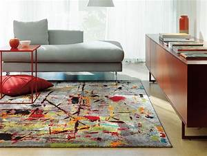 tapis de salon moderne multicolore slam arte espina With tapis moderne salon