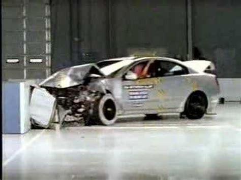 auto body repair training 2004 mitsubishi galant on board diagnostic system crash test of 2004 2009 mitsubishi galant grunder 380 frontal impact youtube