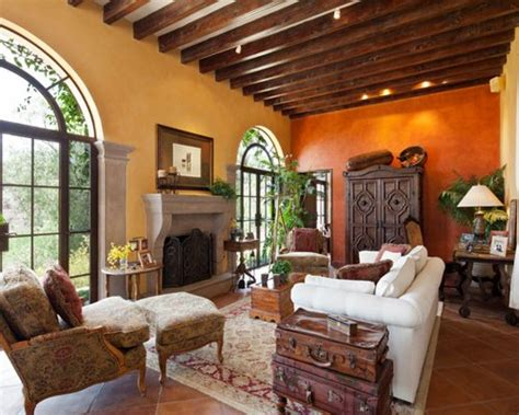 Interiors Home Decor by Terra Cotta Wall Color Home Design Ideas Pictures
