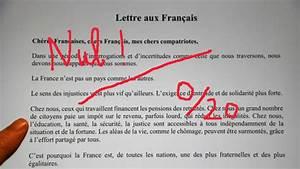 Lettre Du Président Aux Français : la lettre de macron aux fran ais une gilet jaune lui r pond ~ Medecine-chirurgie-esthetiques.com Avis de Voitures