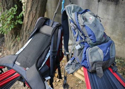 Pack Hammock by Hackedpack Hammock Backpack Hiconsumption