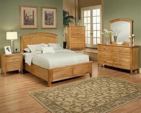 light brown furniture bedroom ideas with colored wood sets