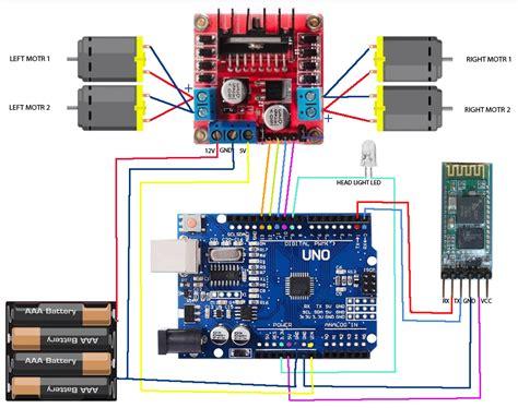 Bluetooth Controlled Car Arduino Project Hub