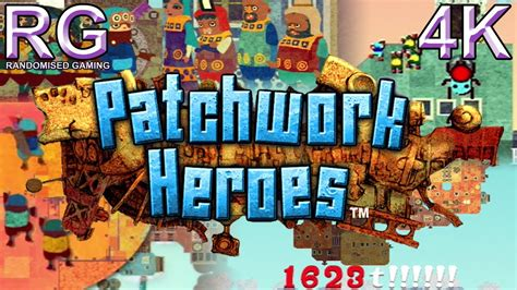 patchwork heroes playstation portable intro story