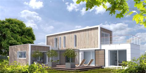 construire un bureau en bois la maison modulaire lennon leberre joncour