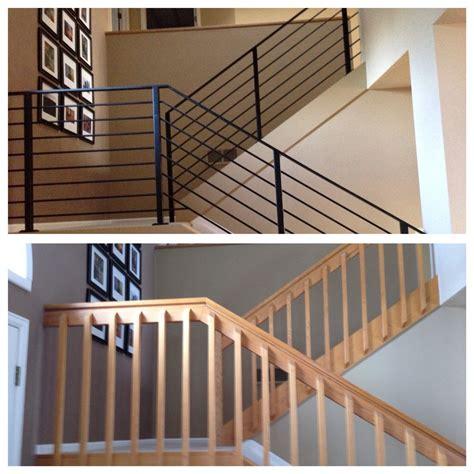 metal stair railings  excited    rid