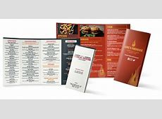 Take Out Menu Template Templates Station