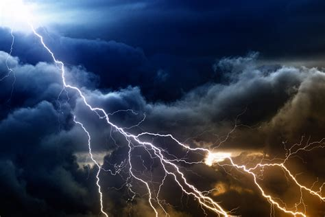 cloudy lightning sky  ultra hd wallpaper background