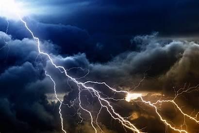 Lightning Sky Cloudy Cloud 4k Background Ultra