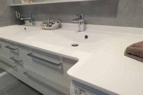 meuble cuisine blanc meuble salle de bain avec lave linge photo 1 1 3520932