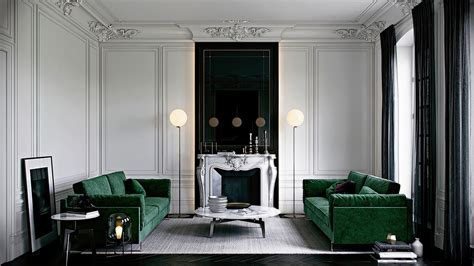 canapé velours vert vert émeraude frenchy fancy