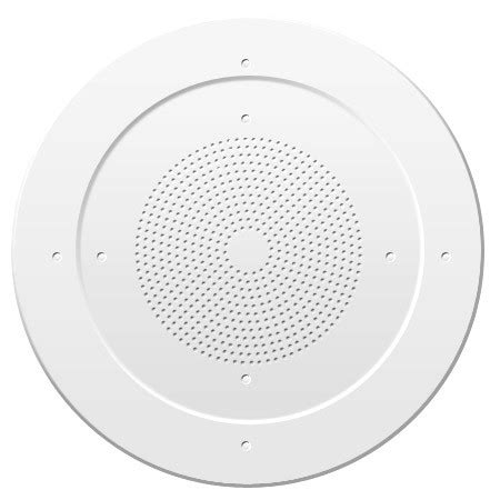 ceiling speaker grille assembly with volume control