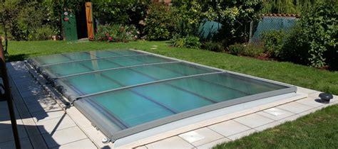 la copertura per piscina piatta azenco
