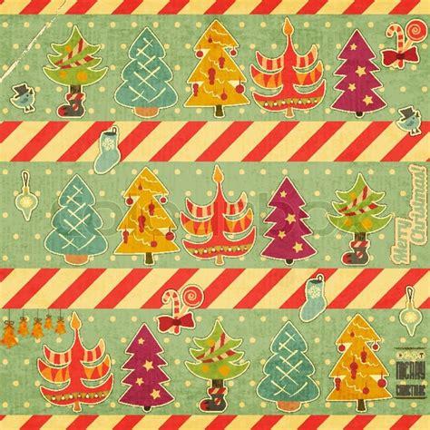 retro merry christmas card stock vector colourbox