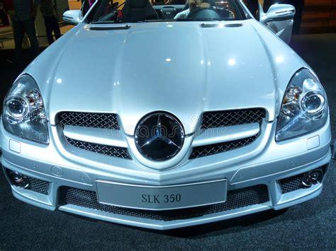 Mercedes Slk 550 Editorial Photography. Image Of Model