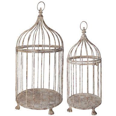 Cage A Oiseaux Decorative Maison Du Monde Cages A Oiseaux Deco Par 2 Achat Vente Voli 232 Re