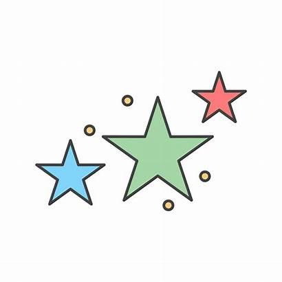 Sterne Symbol Vektor Vecteezy Clipart Icon Stars