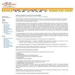 Importer Une Voiture D Allemagne : importation europe pearltrees ~ Gottalentnigeria.com Avis de Voitures