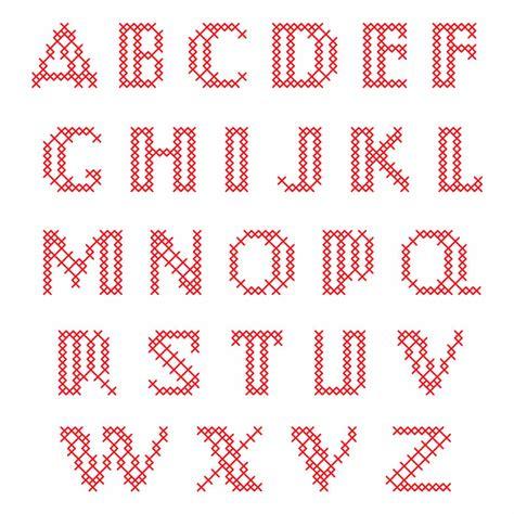 grafico letras de forma revista artesanato