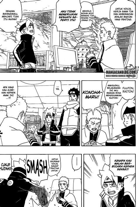 boruto indonesia hal terbarubaca manga komik