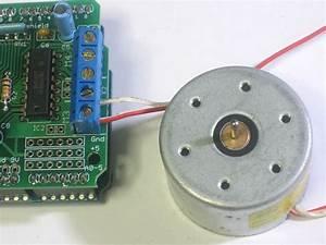 Arduino Motor  Stepper  Servo Control