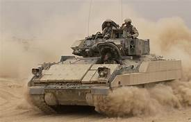 U.S. Army's Bradley Fighting Vehicles to receive modern composite track system…