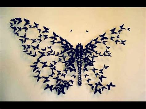 paper butterfly wall decor diy butterfly wall decor wall decor idea how to cut
