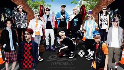 Exo Sehun Background Kpop Growl Dekstop Desktop