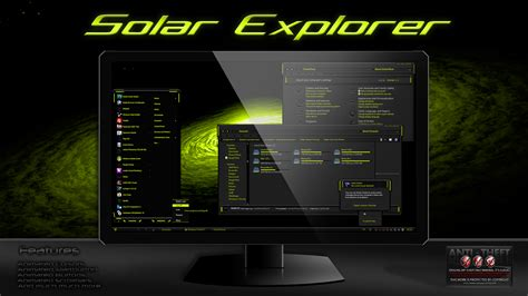 Solar Explorer Theme For Windows 7  Windows10 Themes I