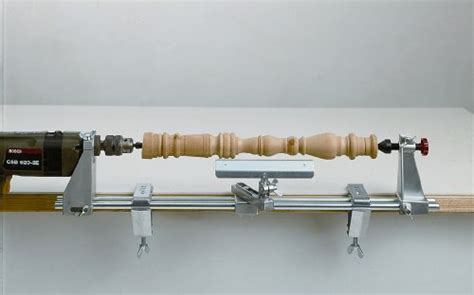 woodwork drill powered wood lathe  plans