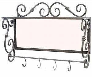 Porte Manteau Mural Avec étagère : ides de porte manteau mural arbre fer forge galerie dimages ~ Teatrodelosmanantiales.com Idées de Décoration